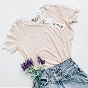 Wildfox NWT | Graphic T-shirt
